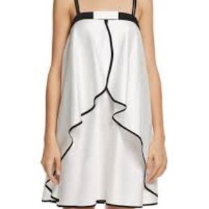 Kate Spade Tulip Overlay Chemise Bow Front NEW